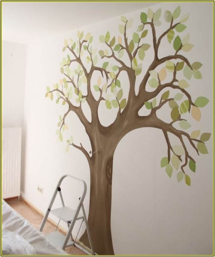 Baum Für Kinderzimmer Basteln