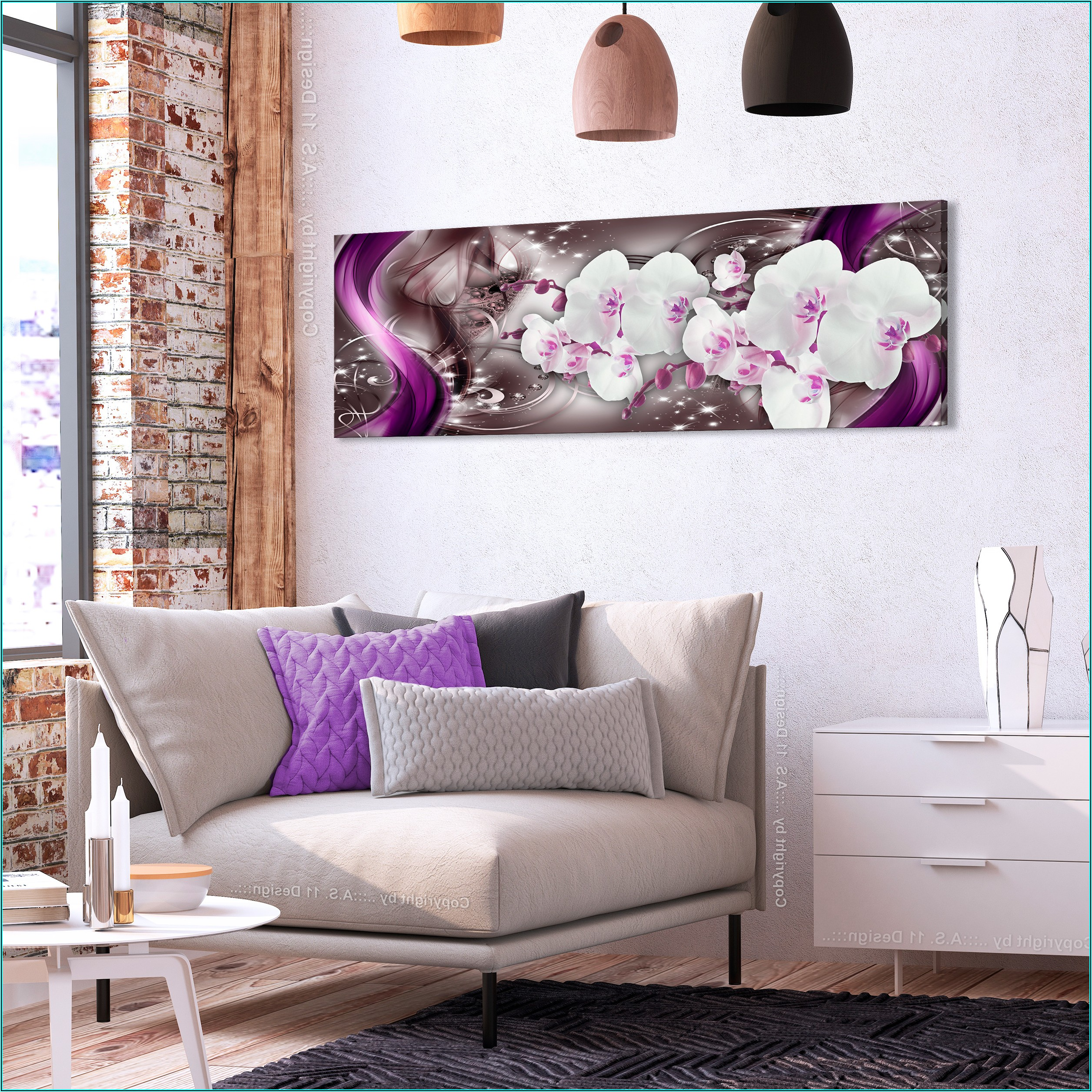 Bilder Abstrakt Wohnzimmer