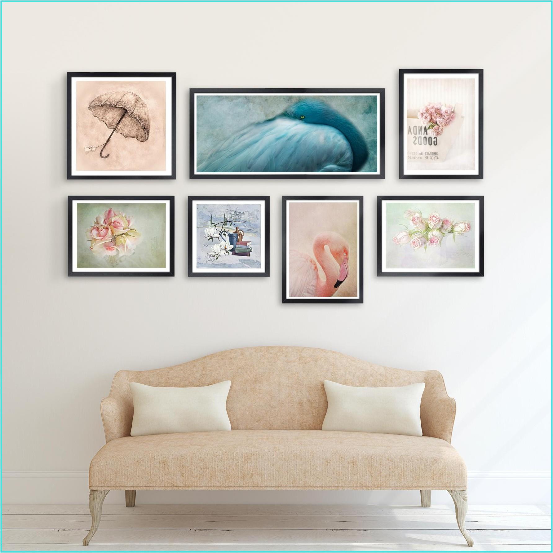 Bilder Anordnen Wohnzimmer