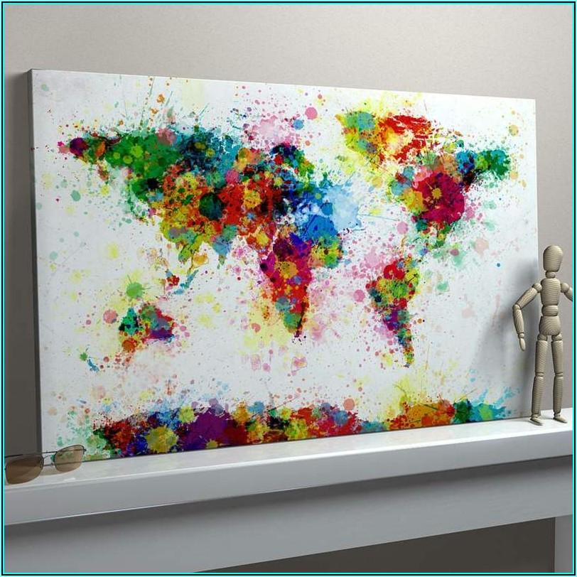 Bilder Für Wohnzimmer Selbst Malen