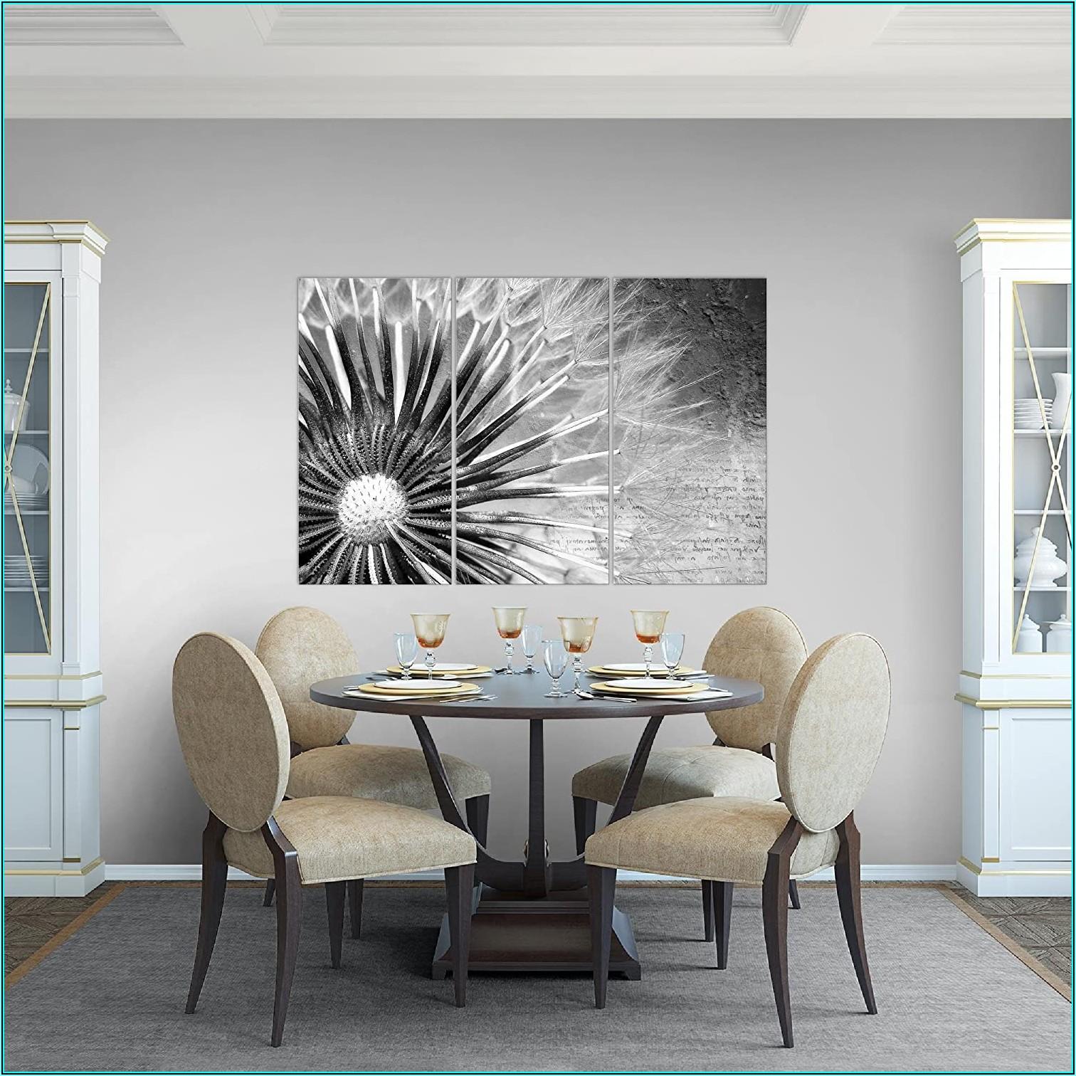Bilder Set Wohnzimmer Schwarz Weiss
