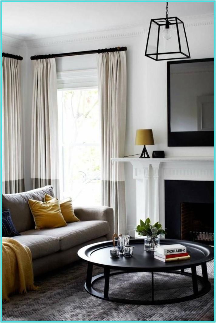 Bilder Vorhänge Wohnzimmer