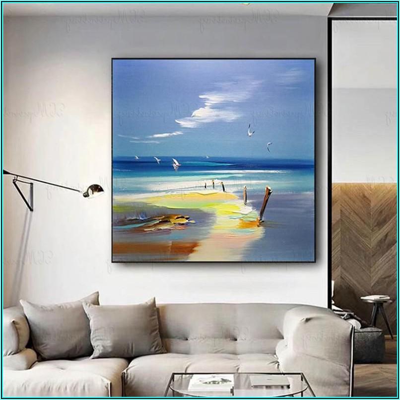 Bilder Wohnzimmer Abstrakte Kunst