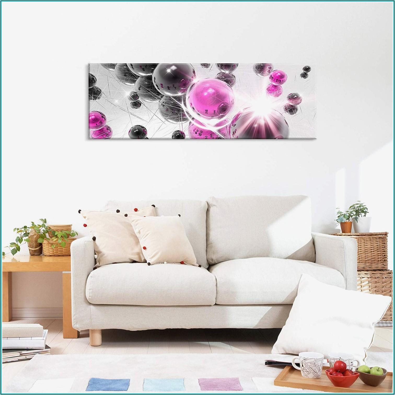 Bilder Wohnzimmer Rosa