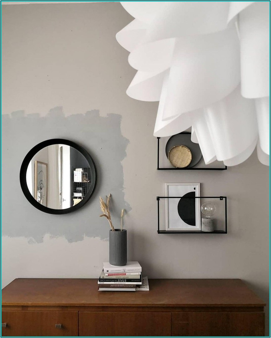 Bilder Wohnzimmer Silber