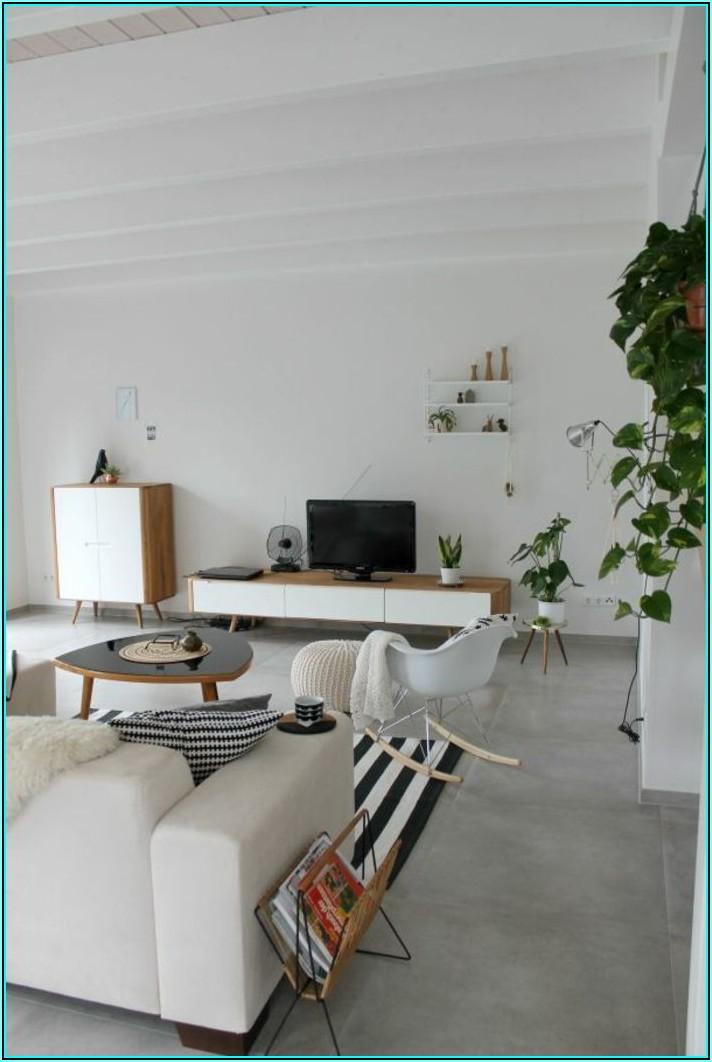 Graue Fliesen Wohnzimmer Bilder