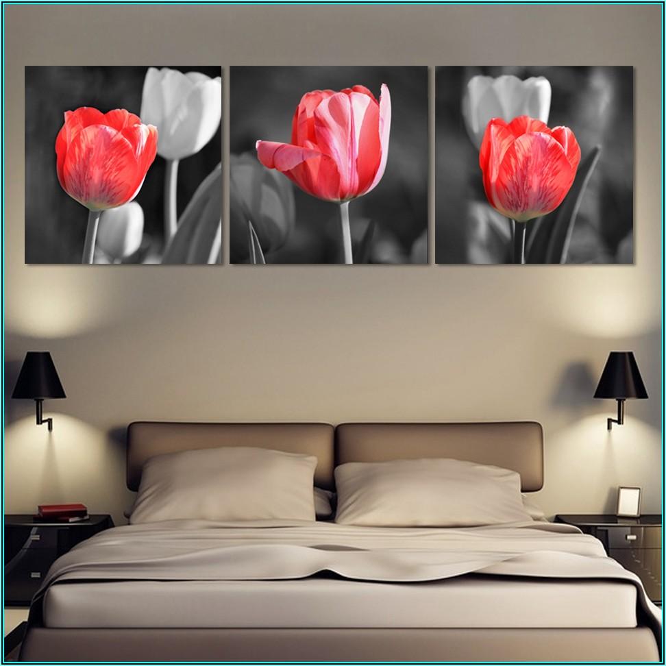 Moderne Bilder Wohnzimmer Grau