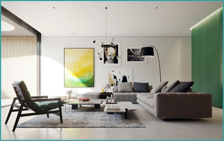 Moderne Bilder Wohnzimmer Rot