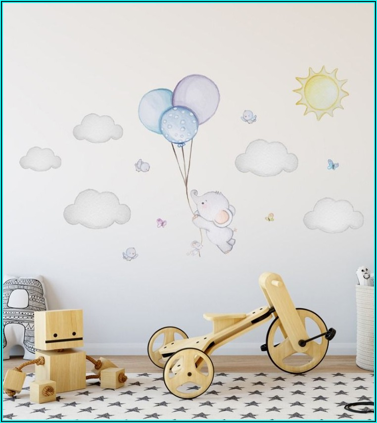 Pinterest Wanddeko Babyzimmer