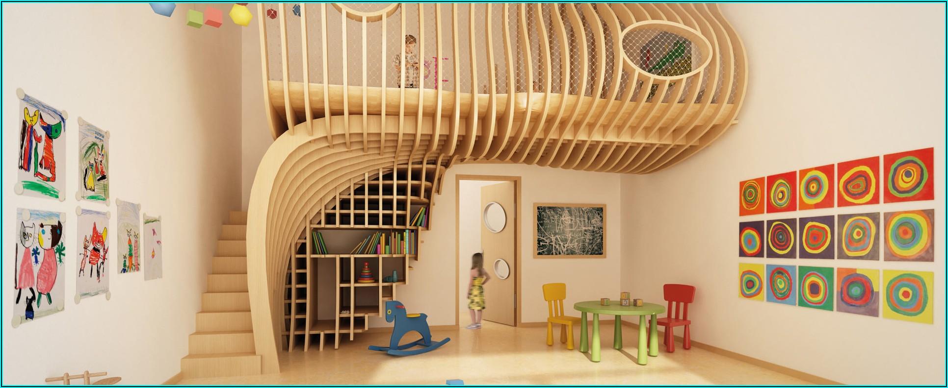 Platzsparende Kinderzimmer Einrichtung