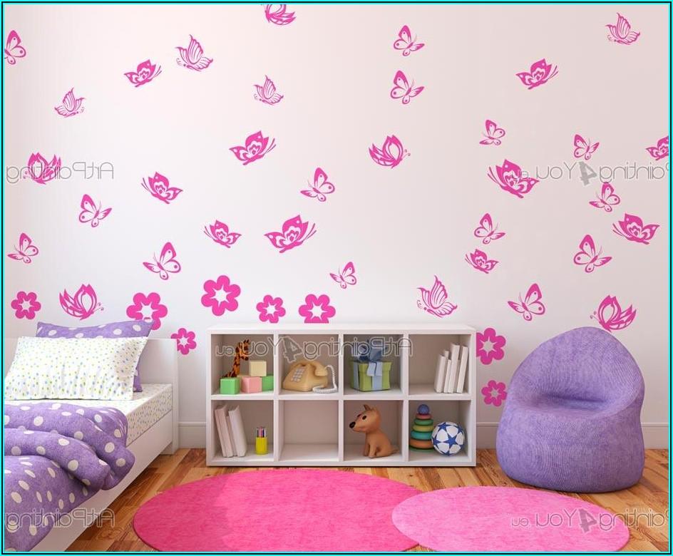 Schmetterlinge Babyzimmer