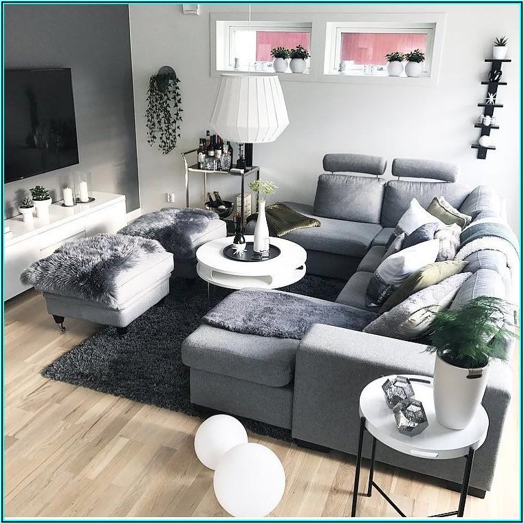Schwarz Weiß Wohnzimmer Bilder