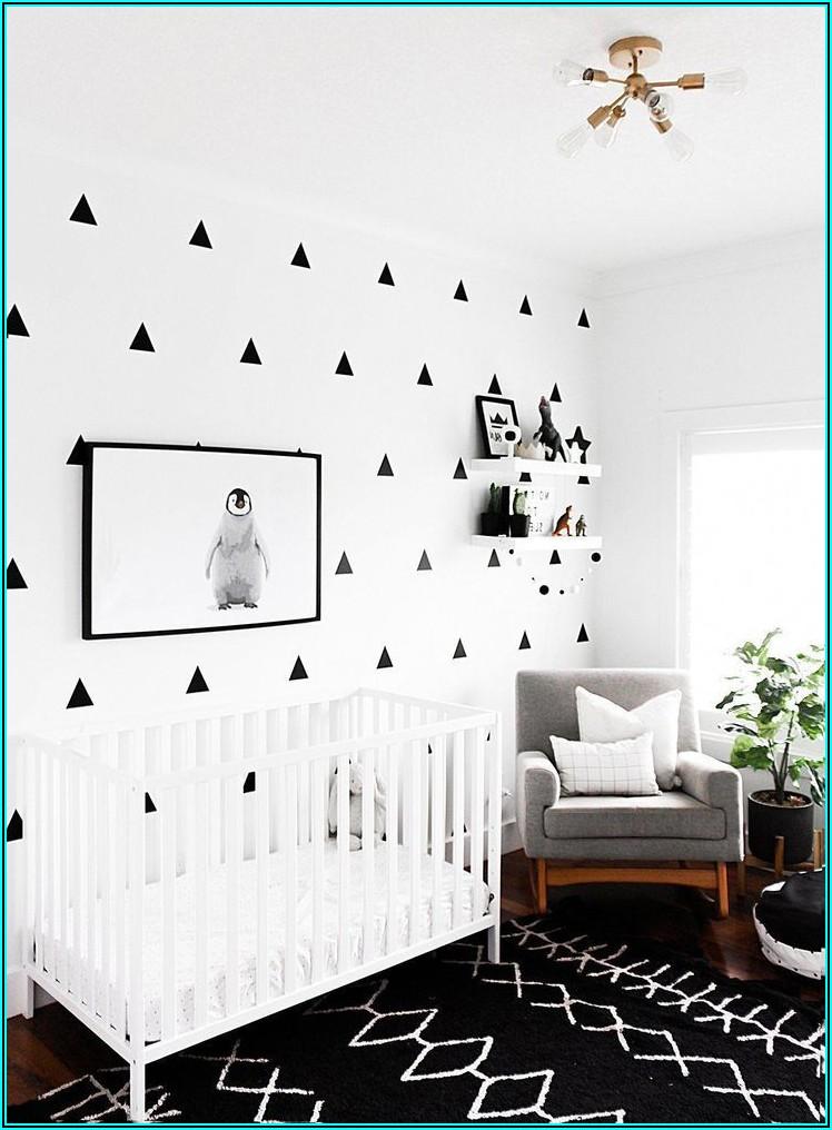 Schwarz Weiss Bilder Babyzimmer