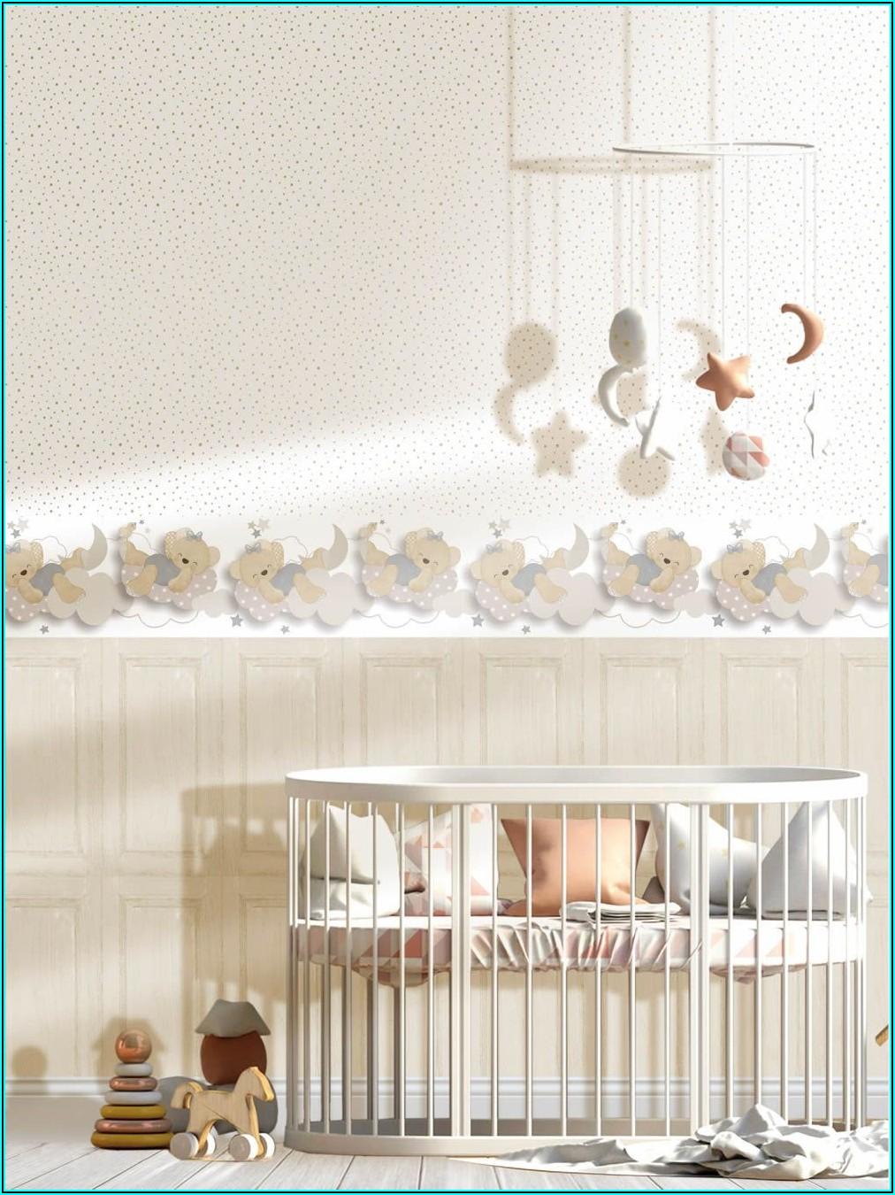 Tapete Babyzimmer Beige