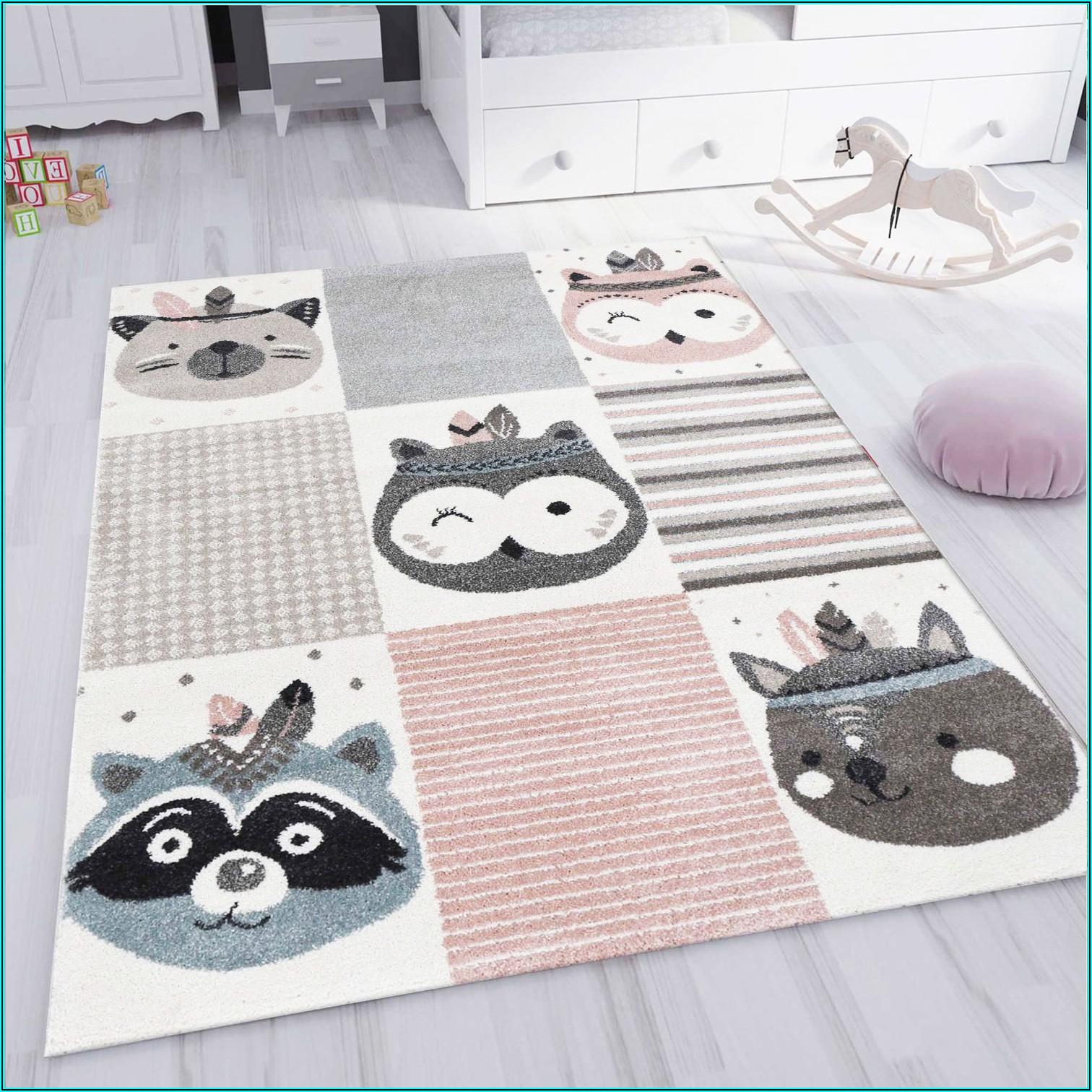 Teppich Kinderzimmer Braun