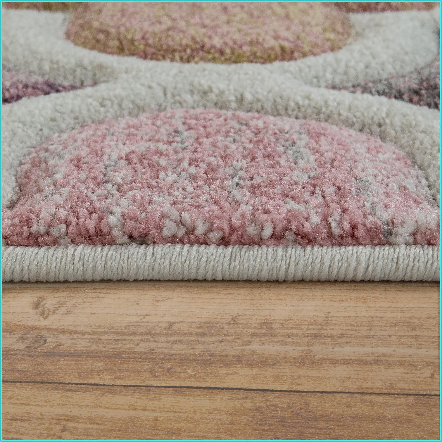 Teppich Kinderzimmer Rosa Mint
