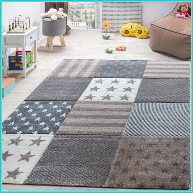 Teppich Kinderzimmer Sterne
