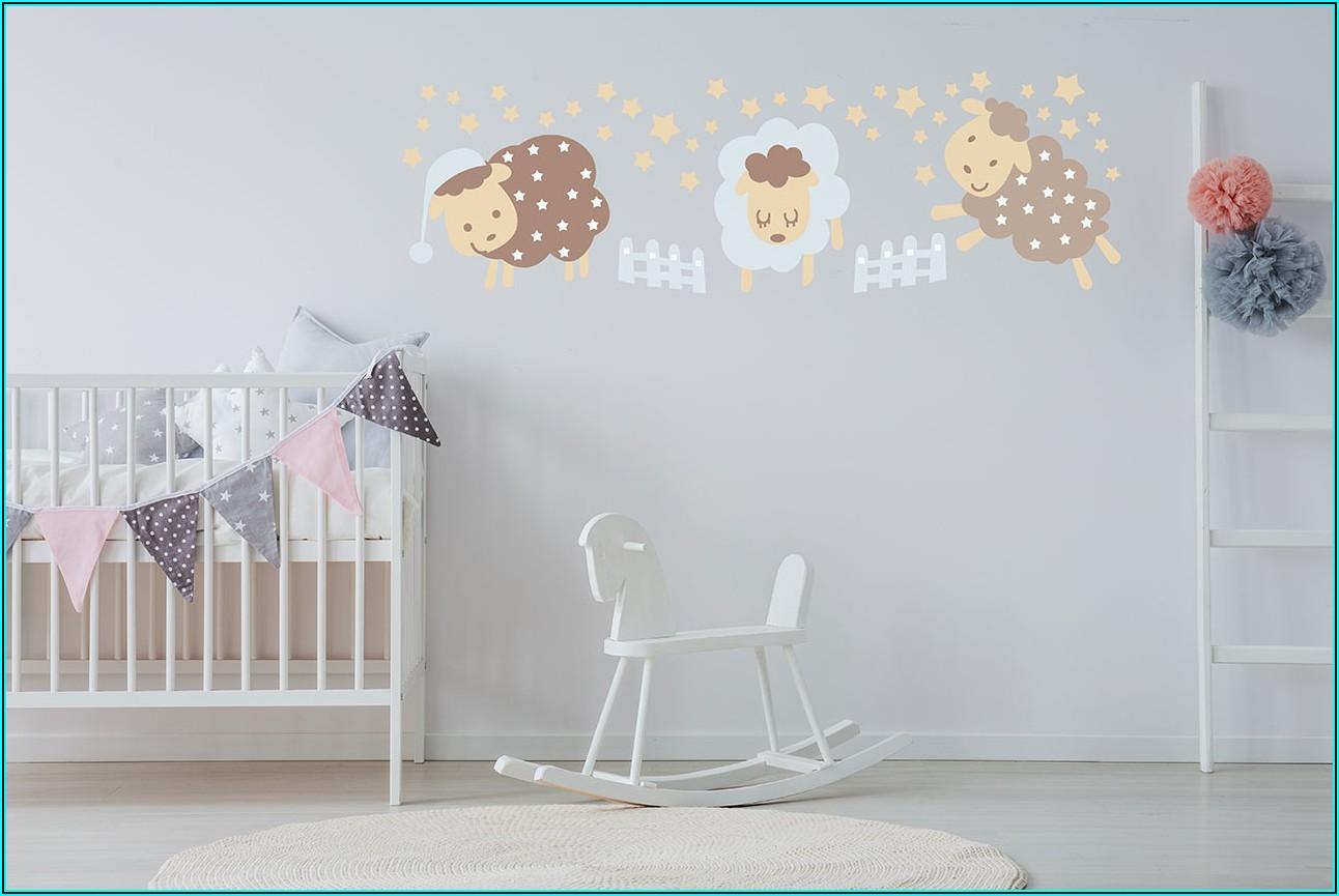 Wandschablonen Kinderzimmer