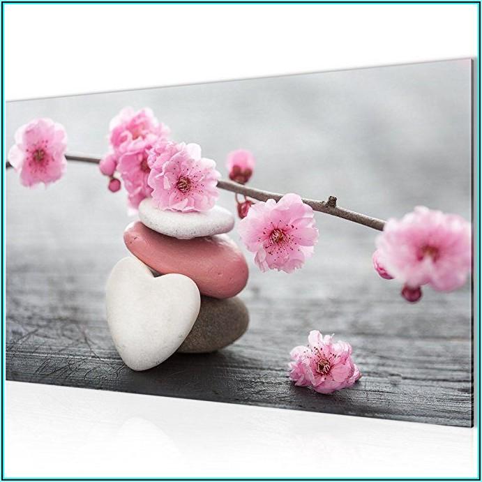 Wohnzimmer Bilder Blumen