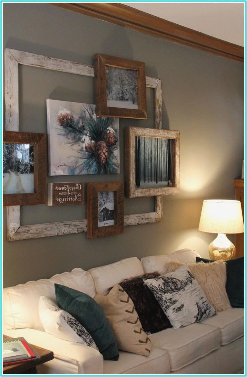 Wohnzimmer Bilder Mit Holzrahmen