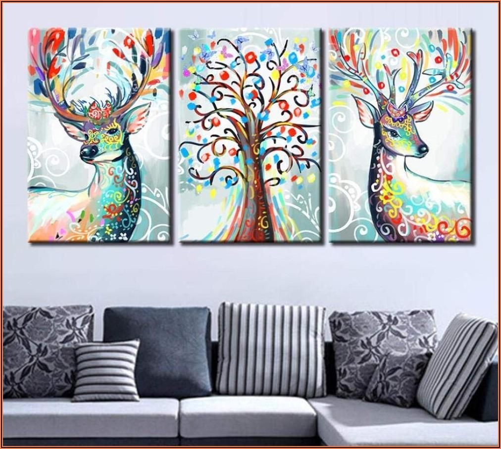 3 Bilder Wohnzimmer