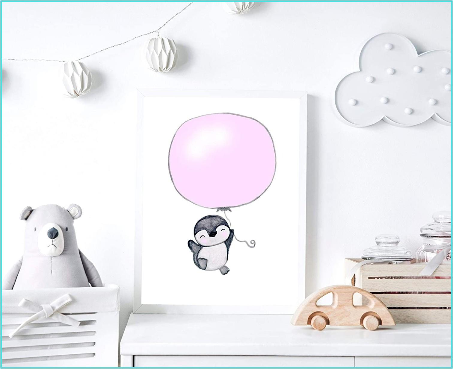 Bild Kinderzimmer Rosa Grau