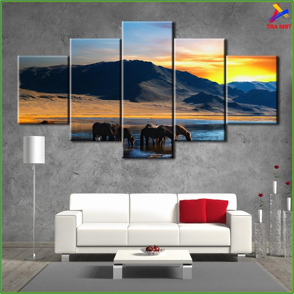 Bild Wohnzimmer Berge