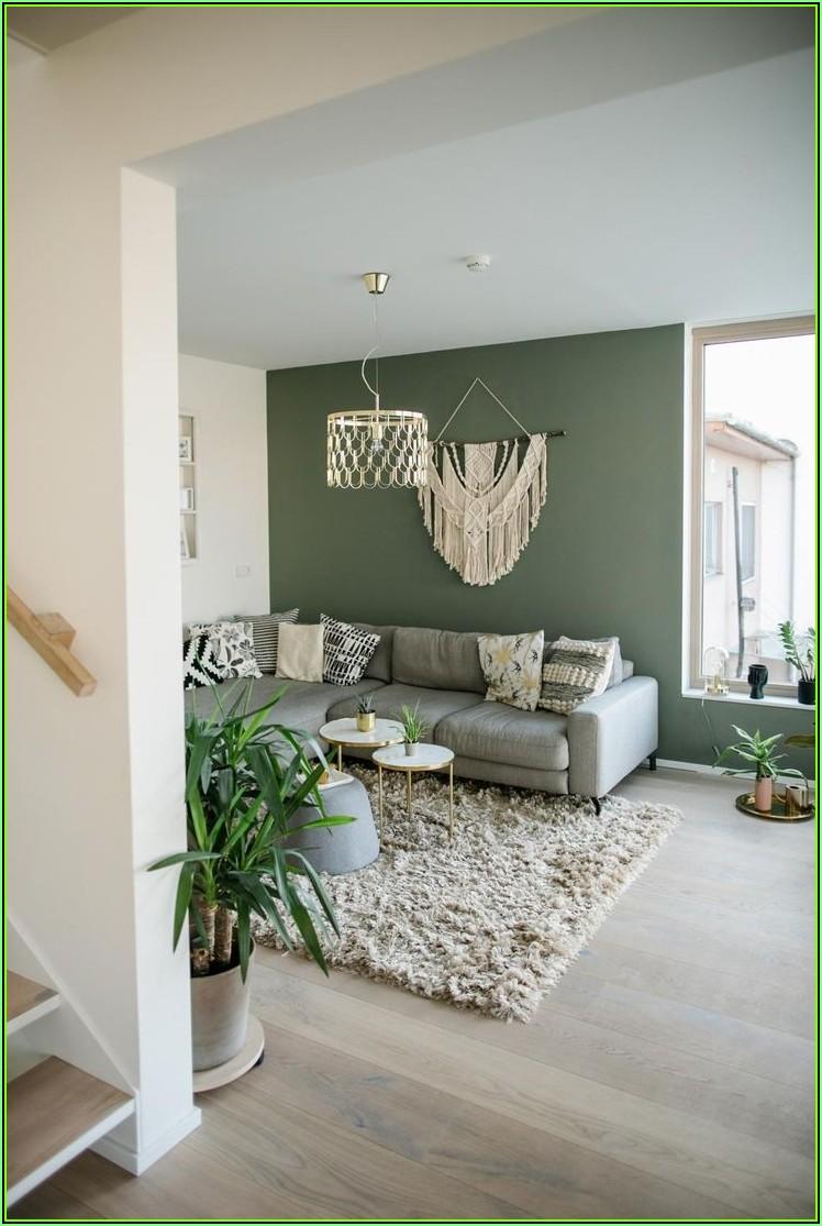 Bild Wohnzimmer Grün