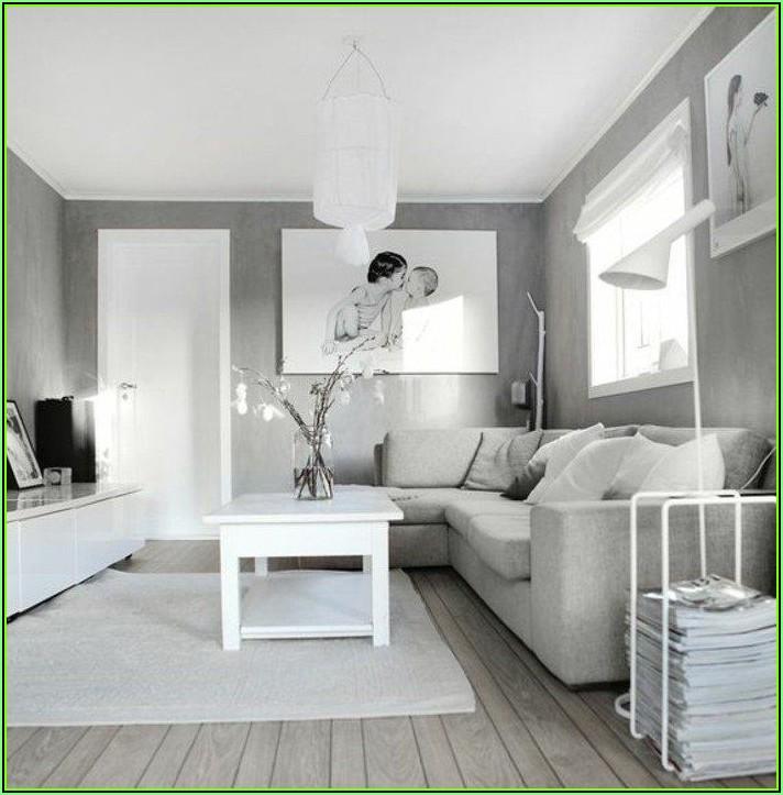 Bild Wohnzimmer Grau