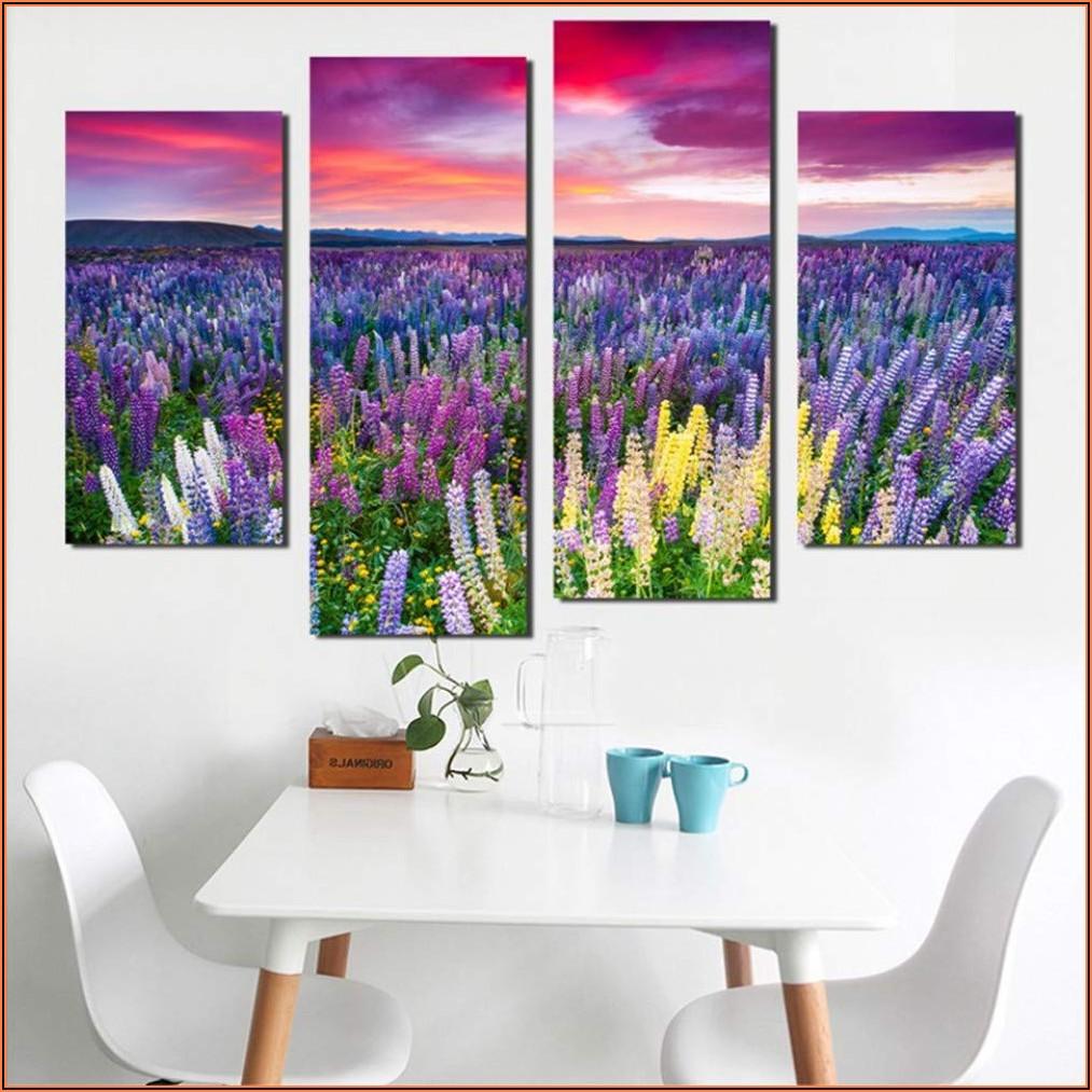 Bunte Bilder Wohnzimmer