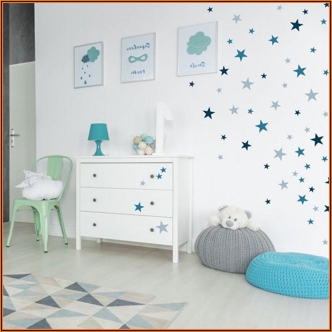 Kinderzimmer Wand Blau