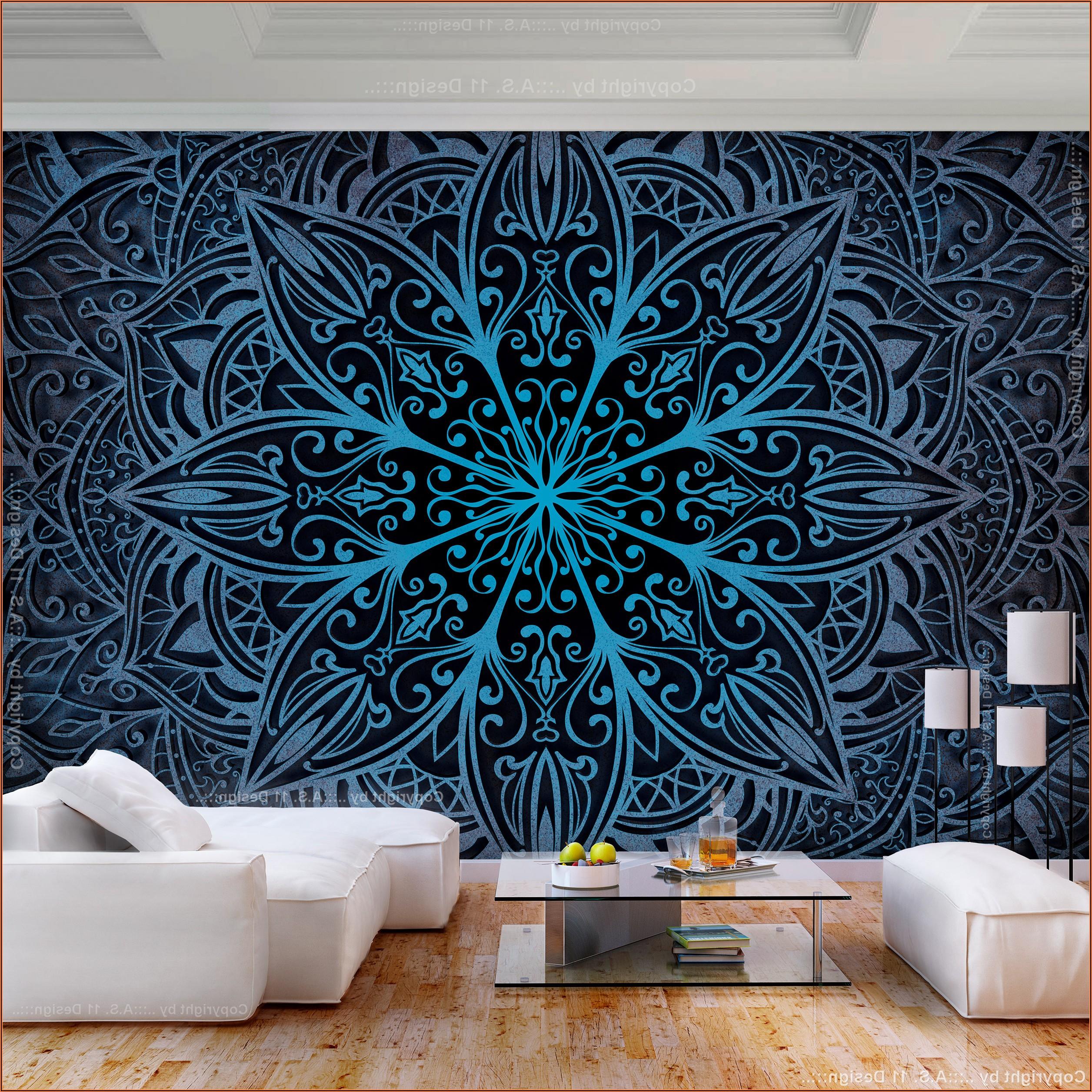 Mandala Bild Wohnzimmer
