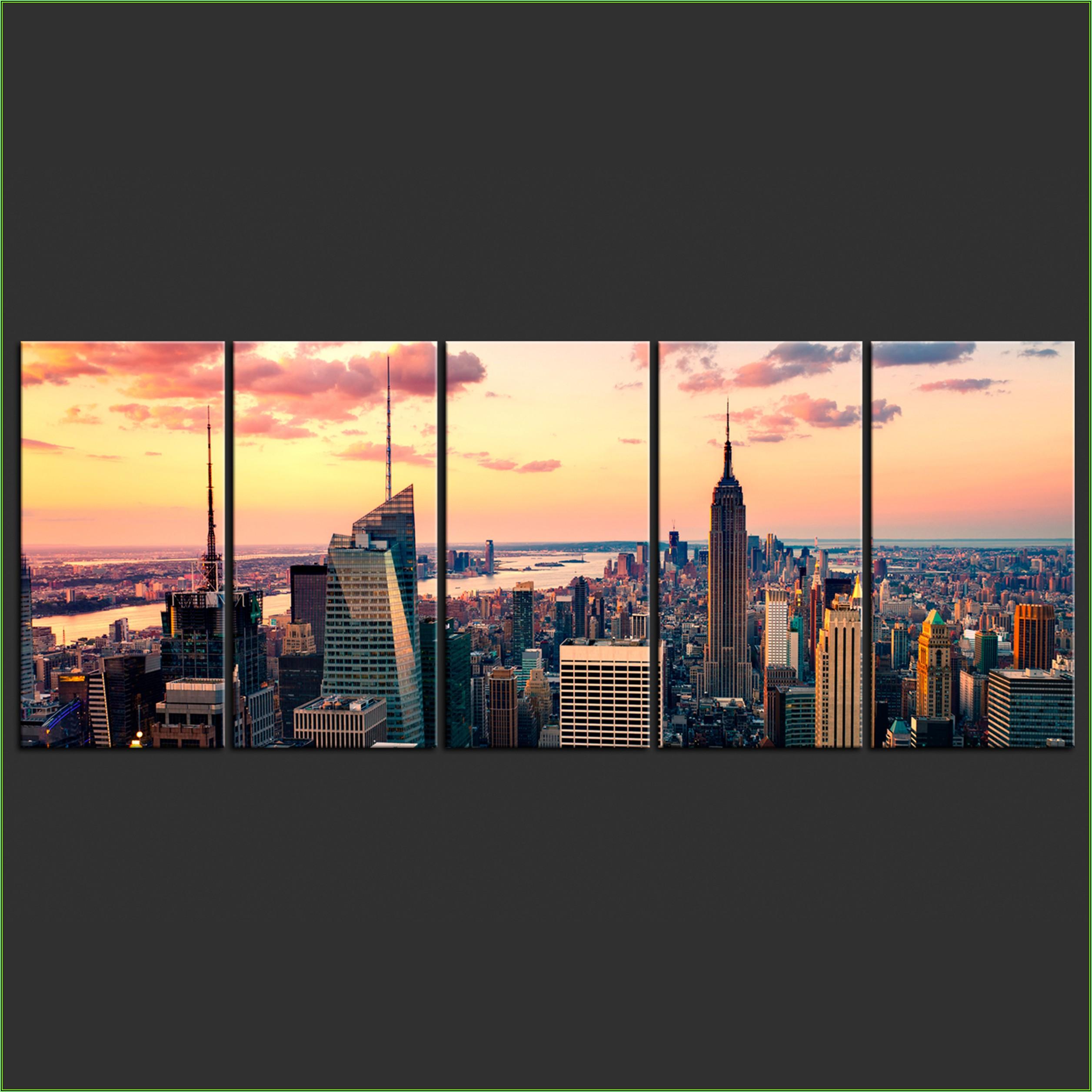 New York Bild Wohnzimmer