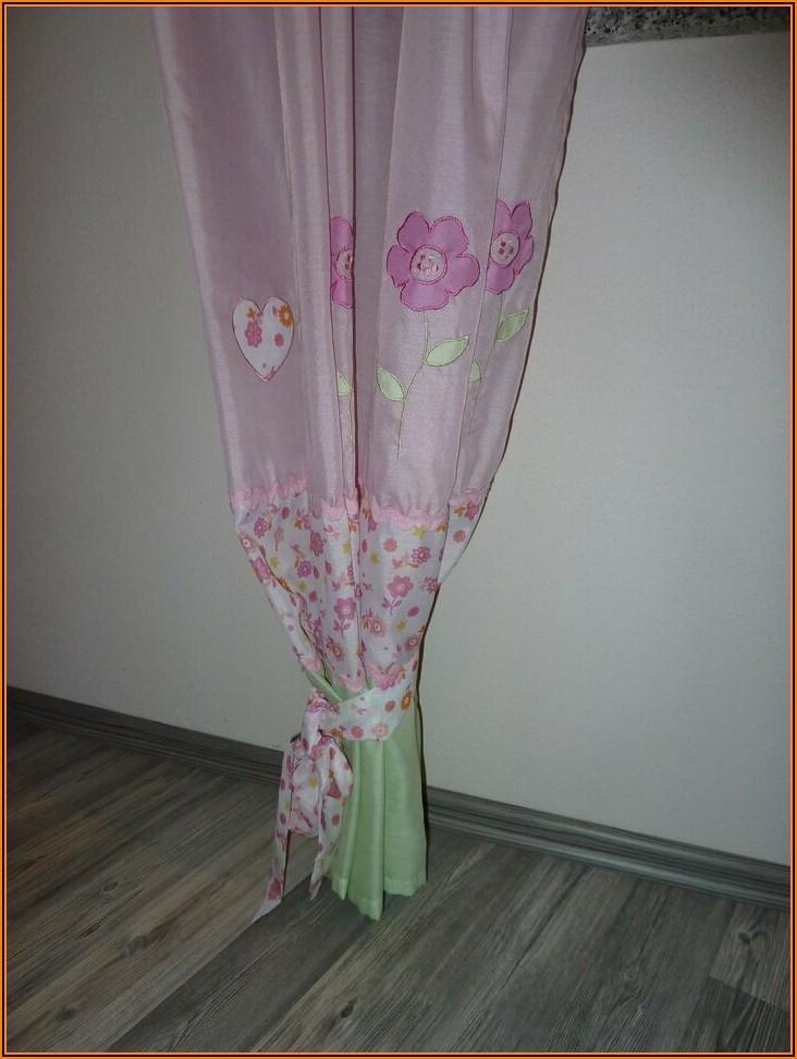Vorhang Kinderzimmer Rosa