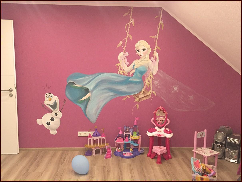 Wandbemalung Kinderzimmer Junge