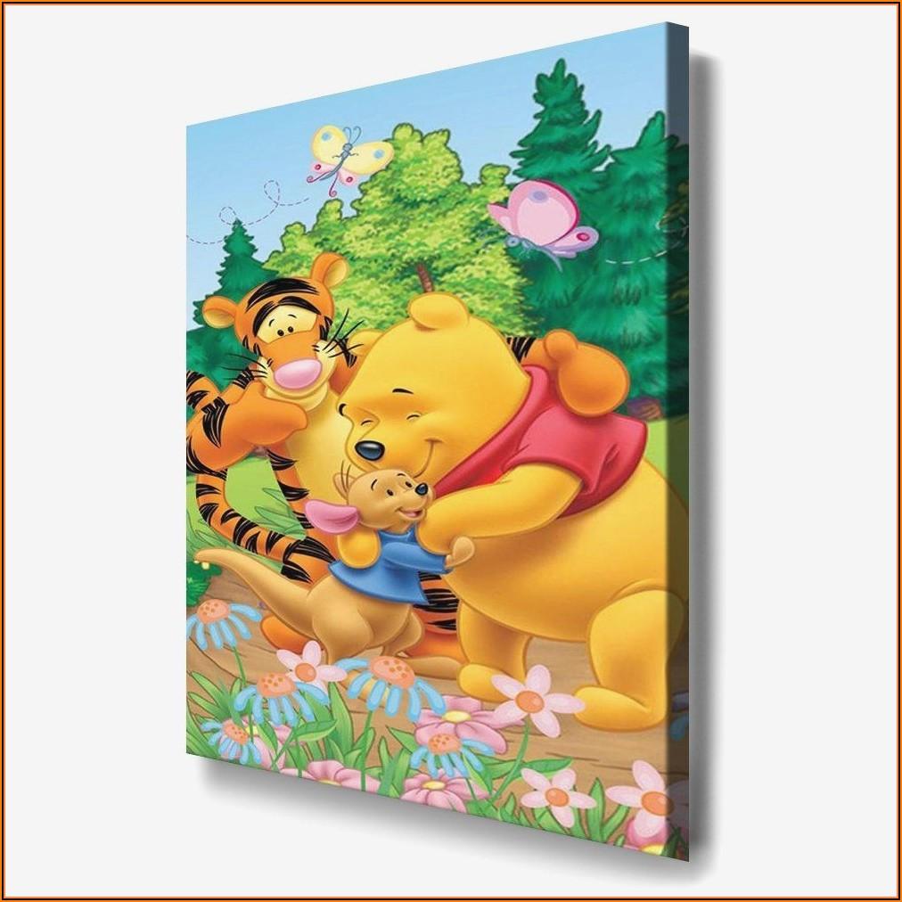 Wandbilder Kinderzimmer Winnie Pooh