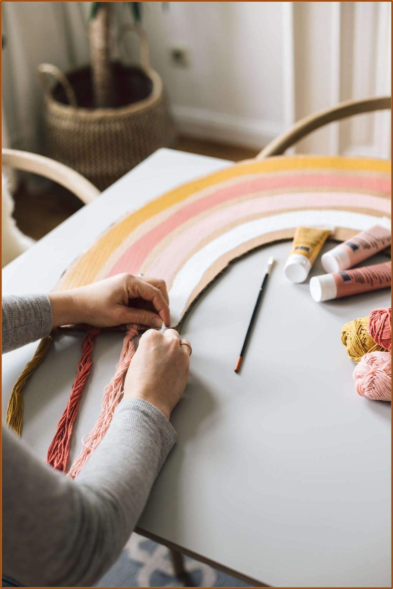 Wanddeko Kinderzimmer Basteln
