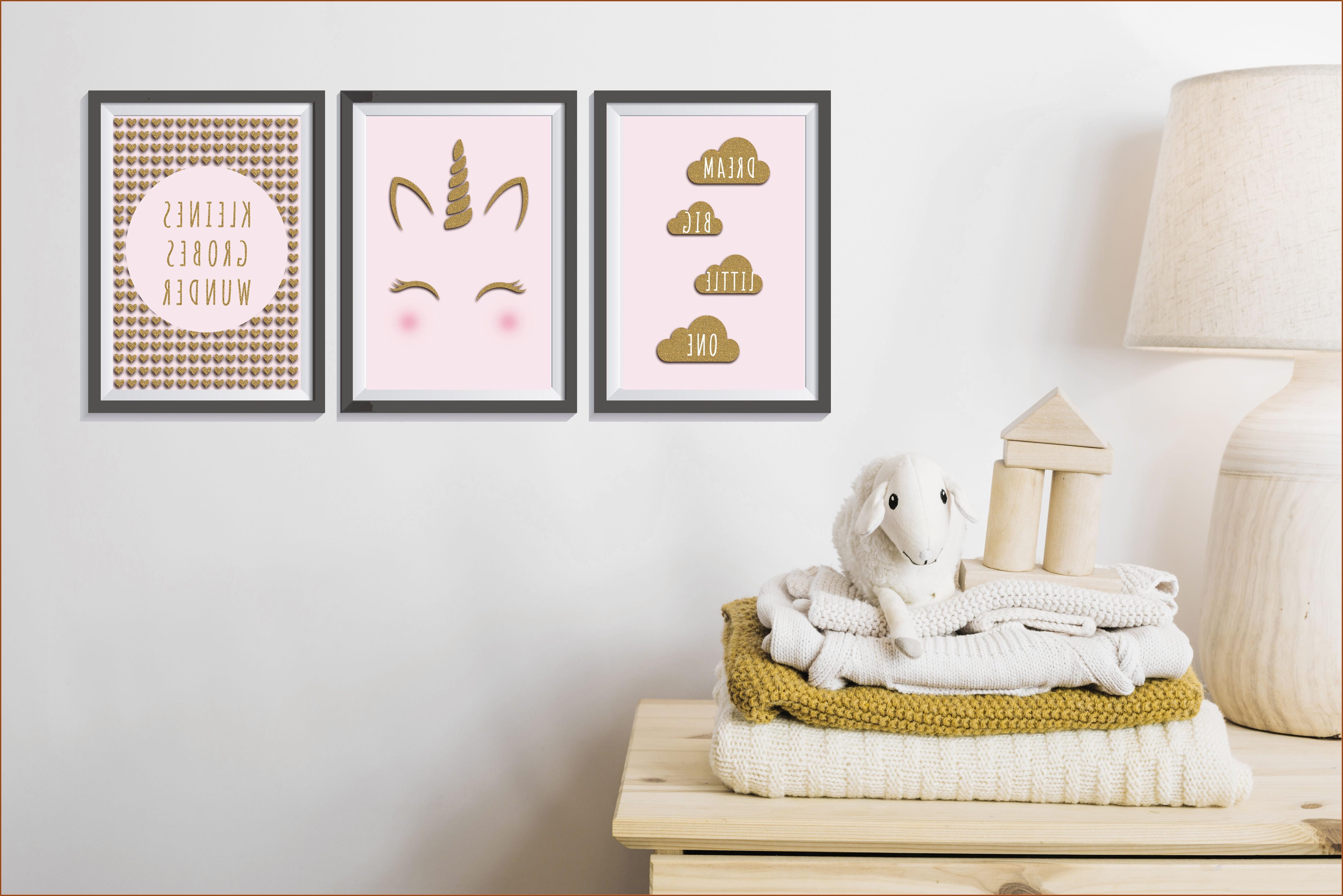 Wanddeko Kinderzimmer Bilder