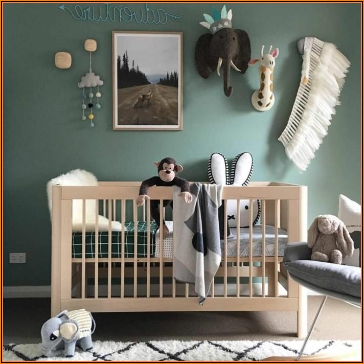 Wandfarbe Grün Babyzimmer