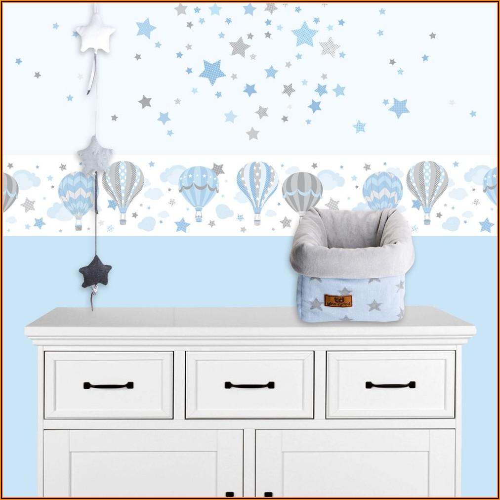 Wandsticker Kinderzimmer Blau