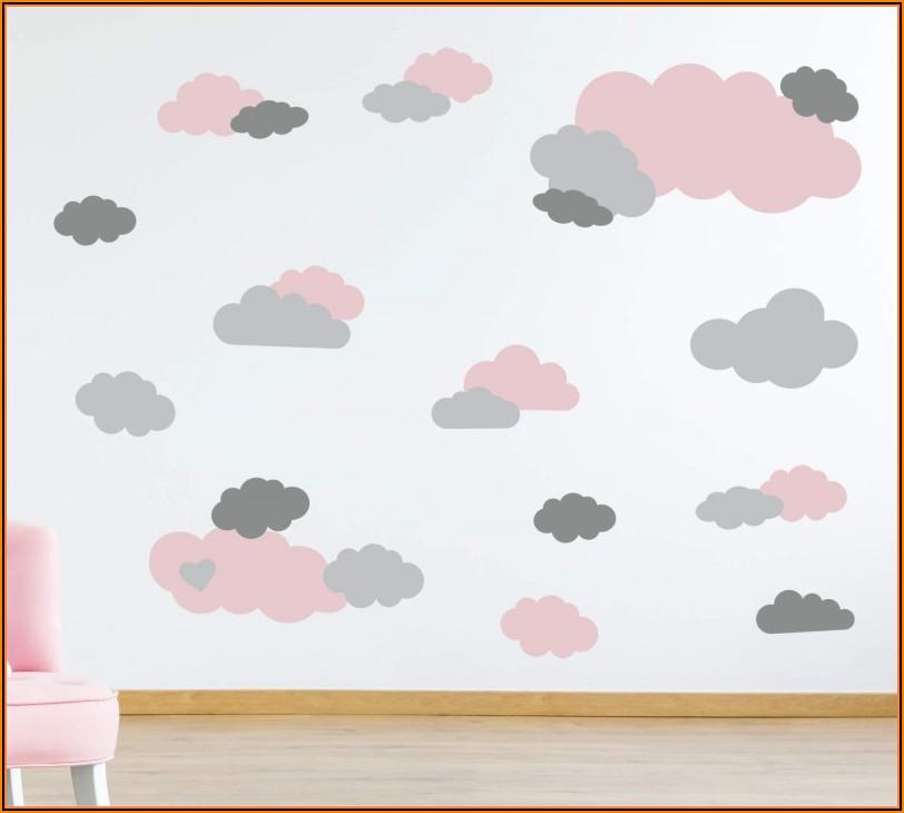 Wandsticker Kinderzimmer Pastell