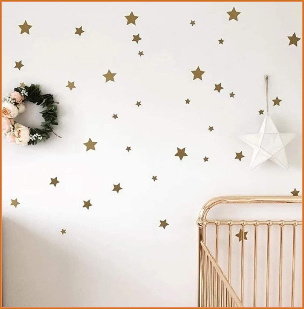 Wandsticker Kinderzimmer Sterne