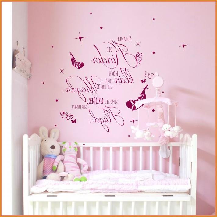 Wandtattoo Babyzimmer Sprüche