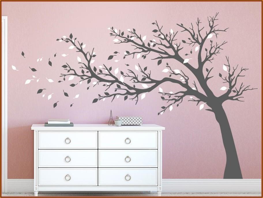 Wandtattoo Baum Babyzimmer