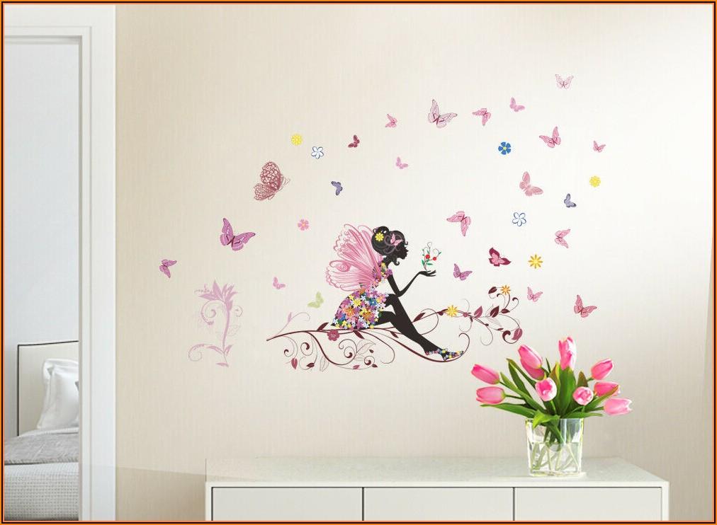 Wandtattoo Kinderzimmer Schmetterlinge