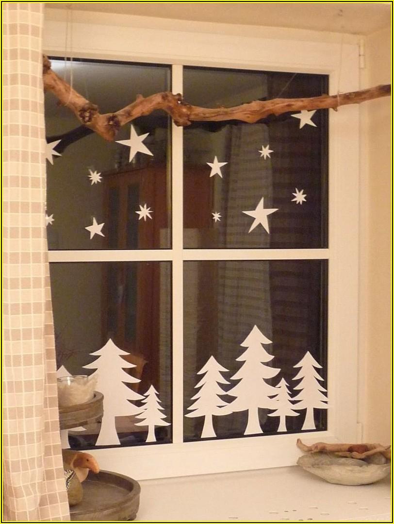 Fenster Kinderzimmer Weihnachten