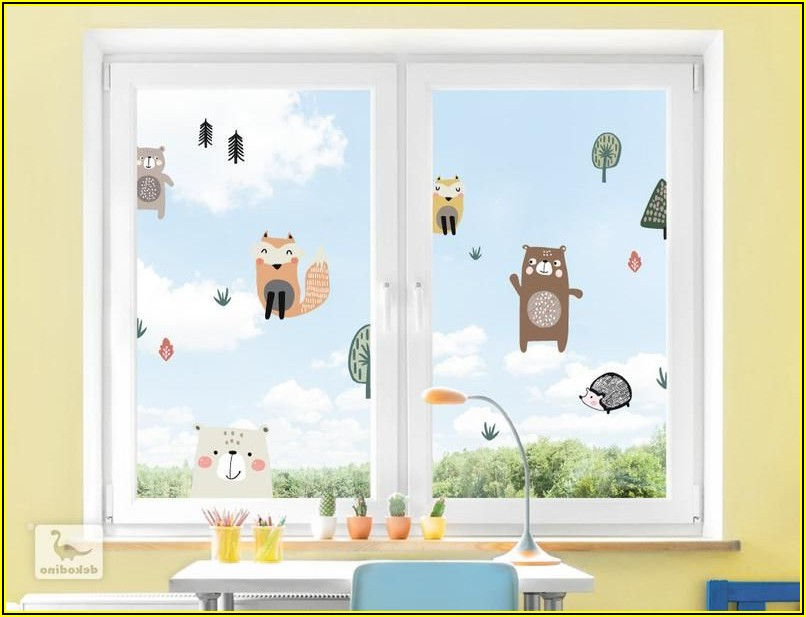 Fenstersticker Kinderzimmer