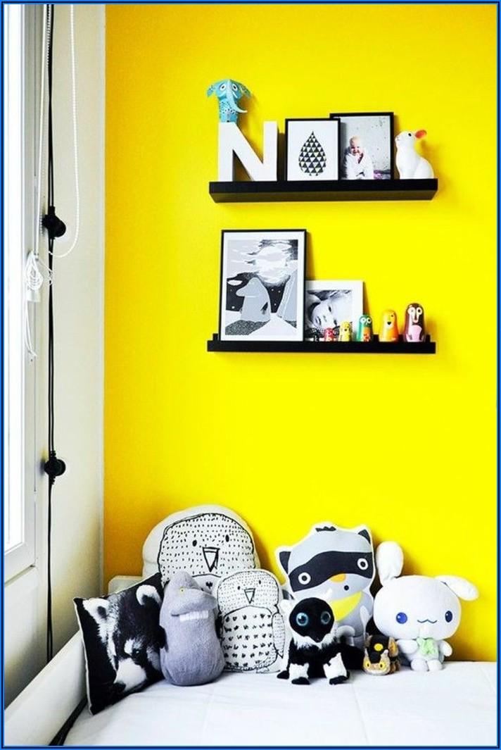Gelbe Wandfarbe Kinderzimmer