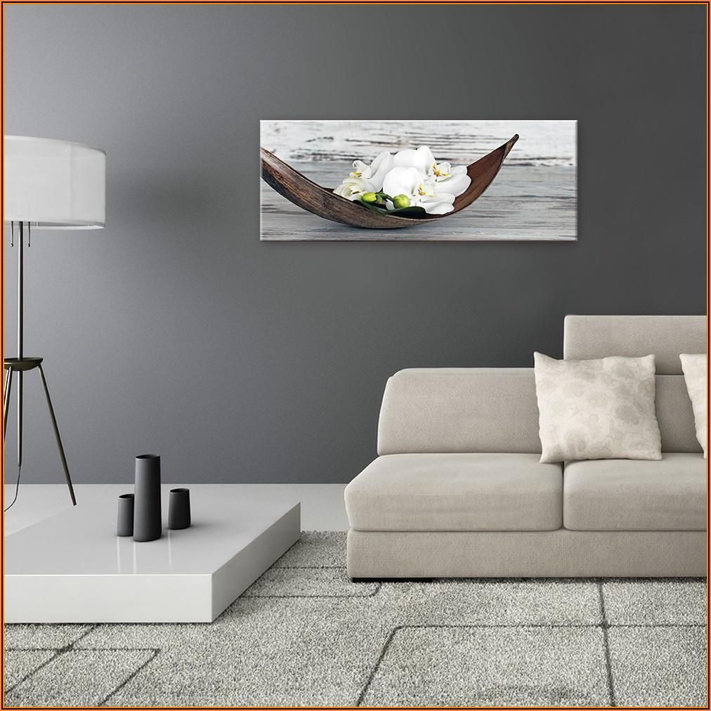 Glasbild Wohnzimmer