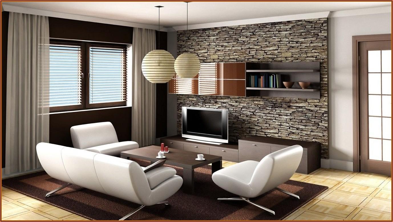 Tapeten Wohnzimmer Bilder